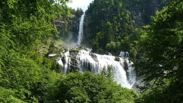 La Cascade d'Ars 13.7 Km