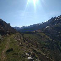 Vue sur le Col d'Escot